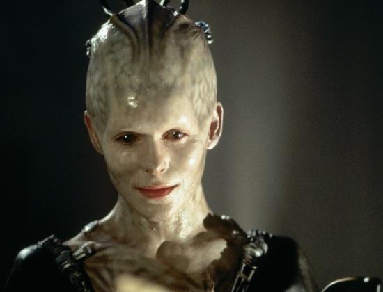 Seductive Borg Queen Nabs