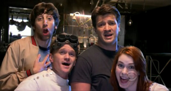 Miss the Dr. Horrible bit during last night's Emmys? It's ...