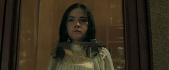 How'd Orphan's pint-size star play a killer? Really well ...