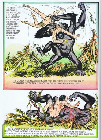 the gorilla porn nudist