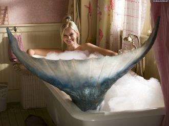 Daryl Hannah Splash Mermaid Tail While Daryl Hannah might ve