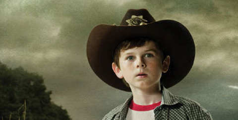 This last episode  he was Walking Dead Carl