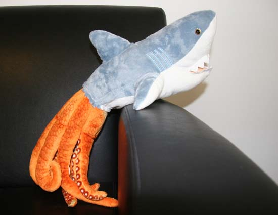 Shark Toys At Toys R Us : A homemade sharktopus plush toy blastr
