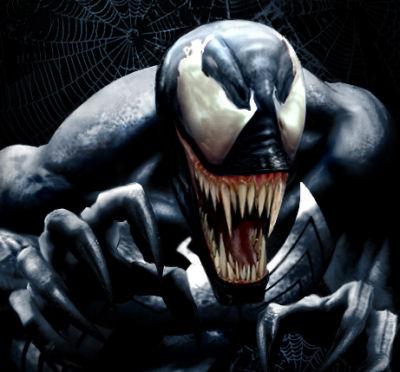 a Spider-Man Venom spi...