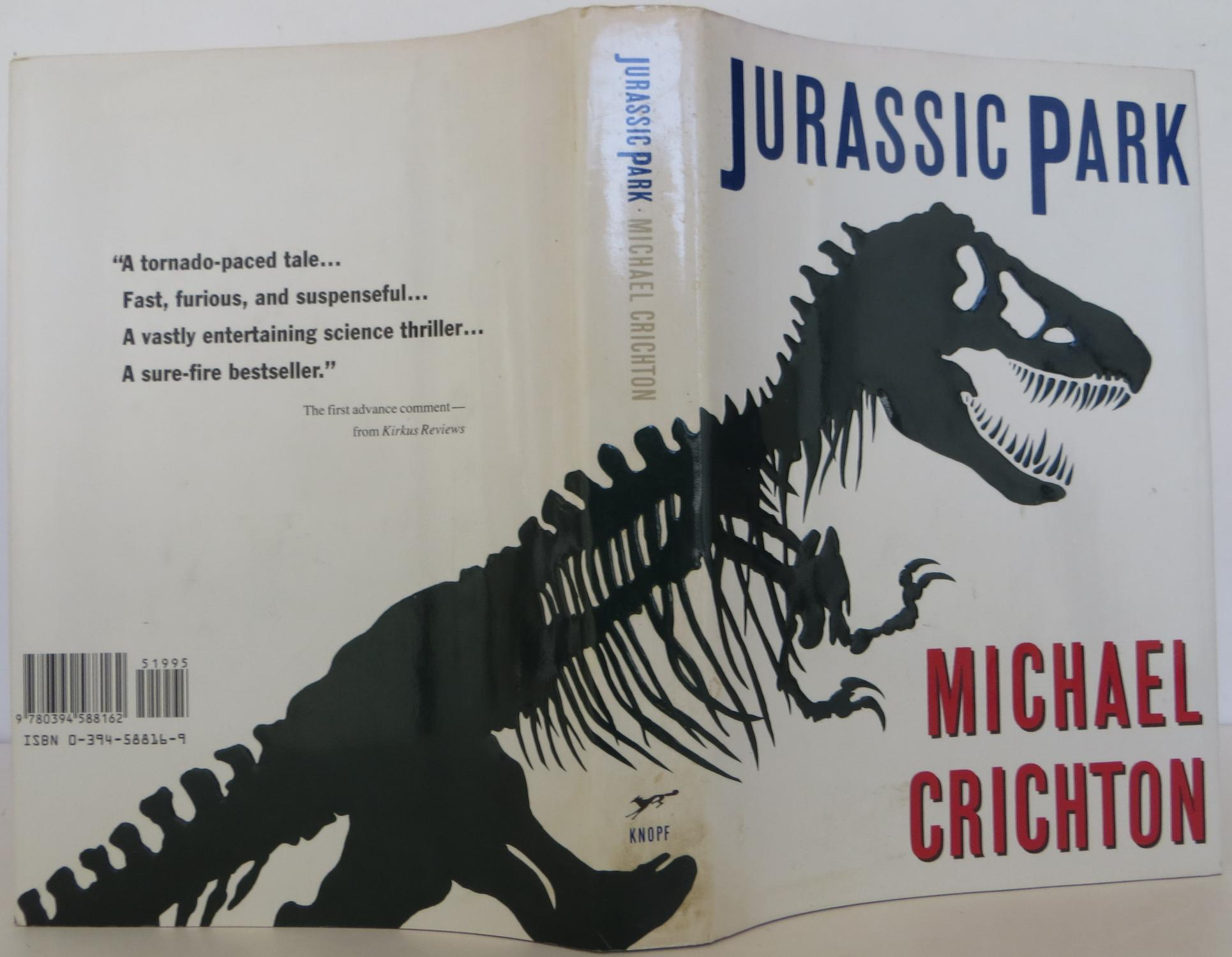 a comparison of book and movie of jurassic park by michael crichton Book vs movie: jurassic park with jurassic world coming out, i decided to compare one of my favorite novels with its film adaptation (and also a movie that's in my top ten) the novel: for most of the 1980s, michael crichton tried to come up with a tale concerning cloned dinosaurs.