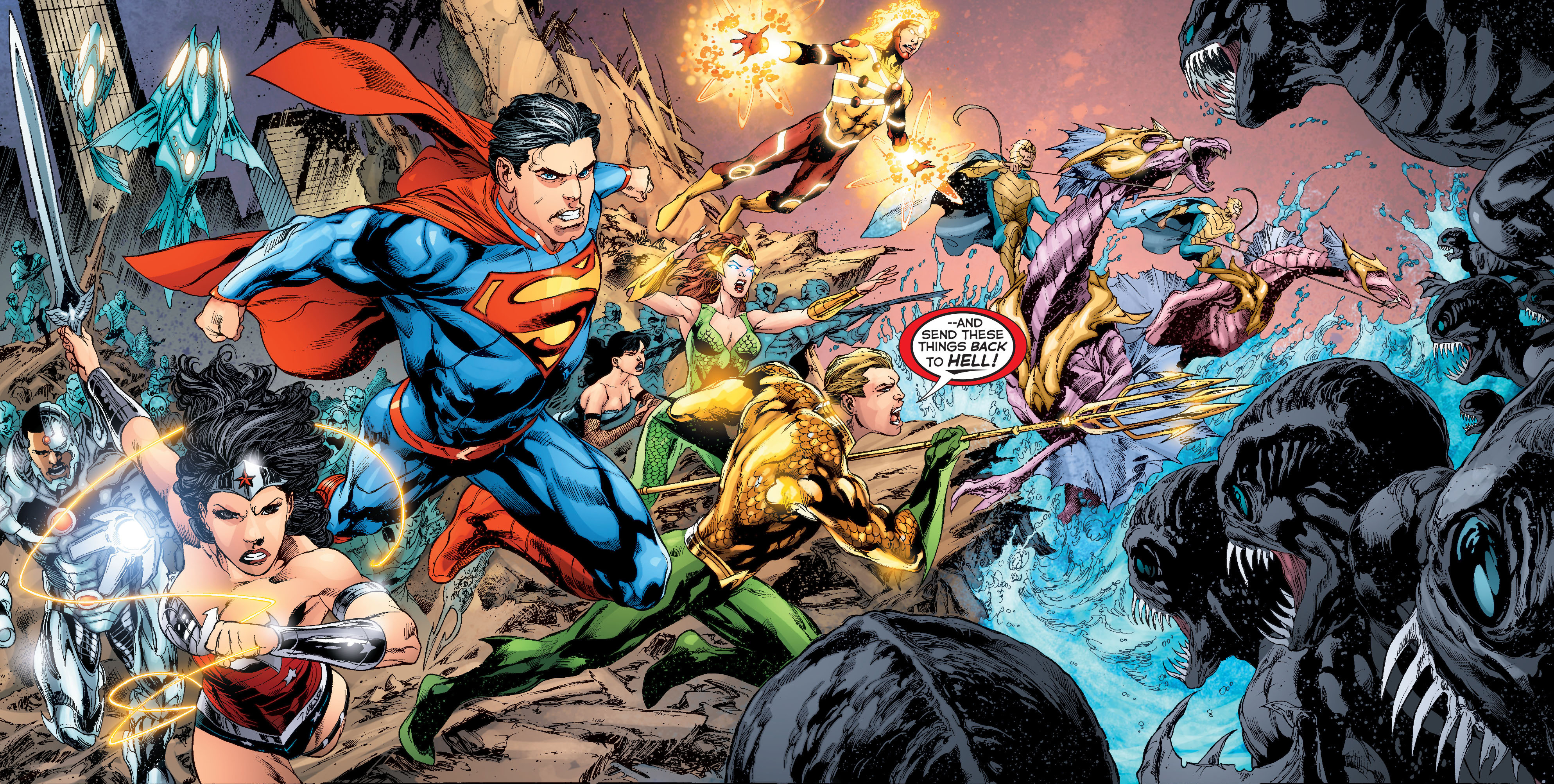 Rumor of the Day: Here's the plot of Justice League 1-2, how Green Lantern  fits | SYFY WIRE