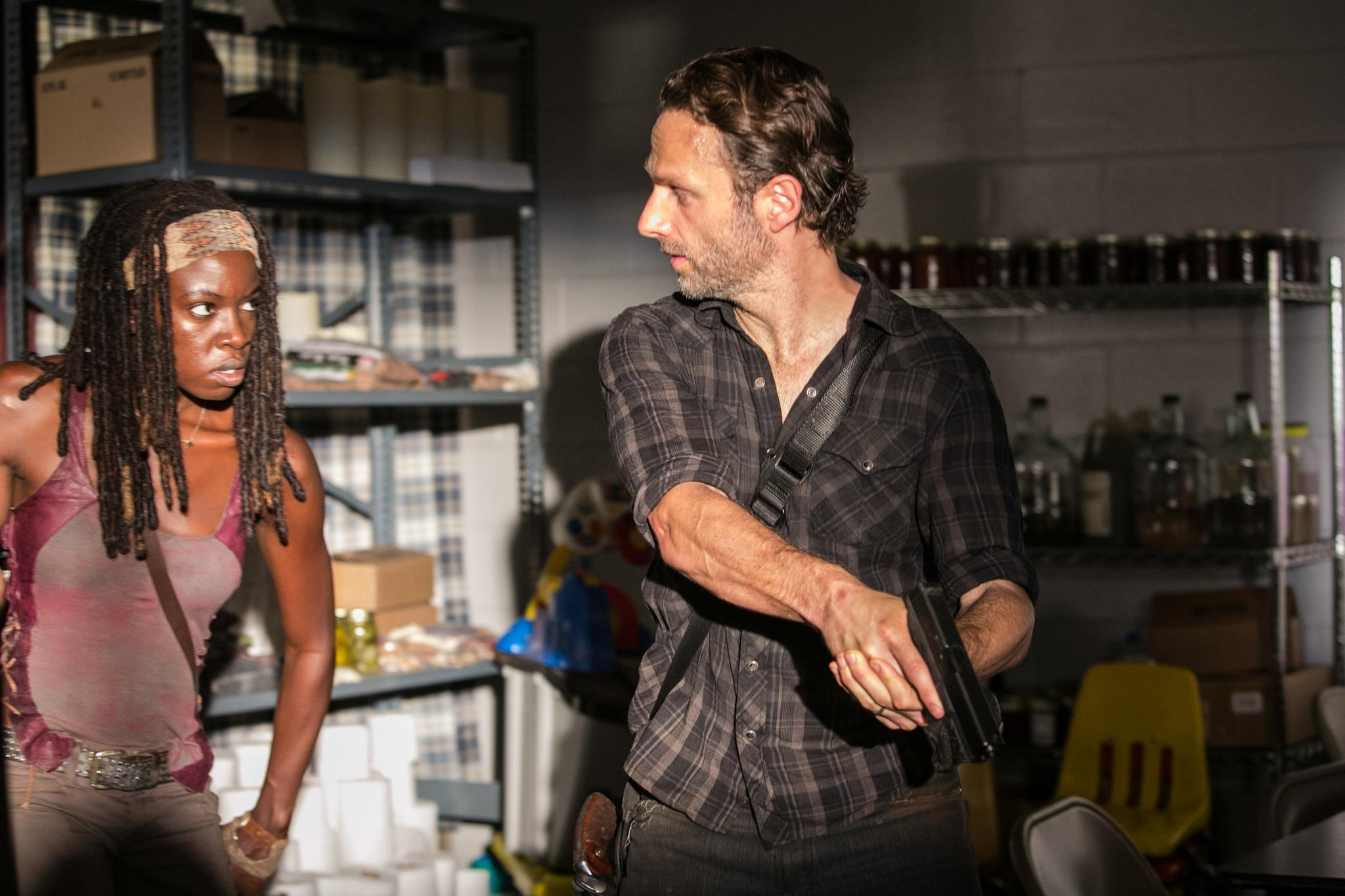 Kirkman teases Walking Dead's Rick + Michonne could be ... - photo#29
