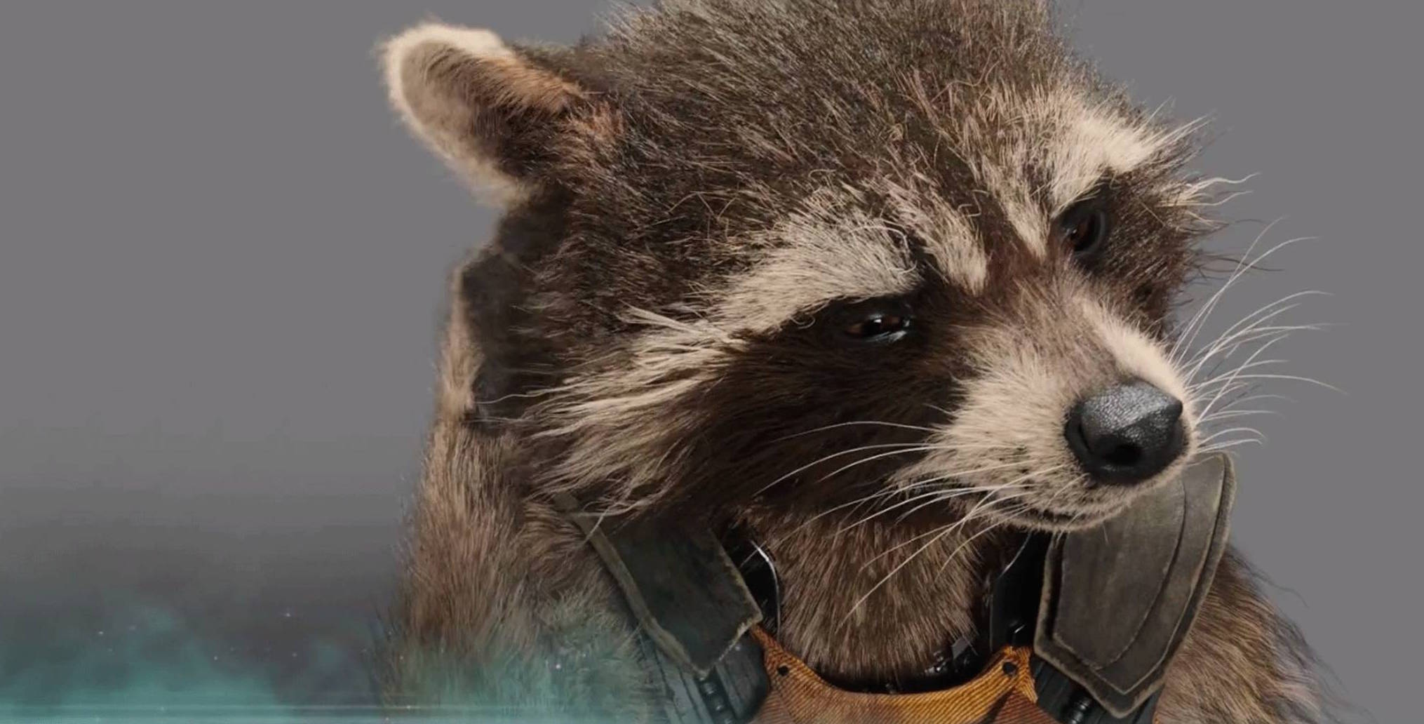 james gunn finds this hyper realistic rocket raccoon animatronic
