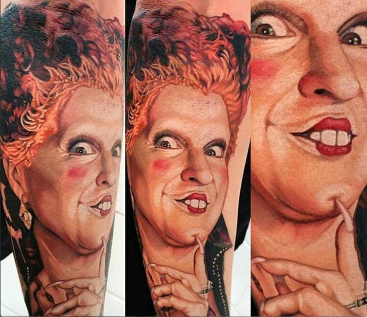 halloween tattoo hocus pocus