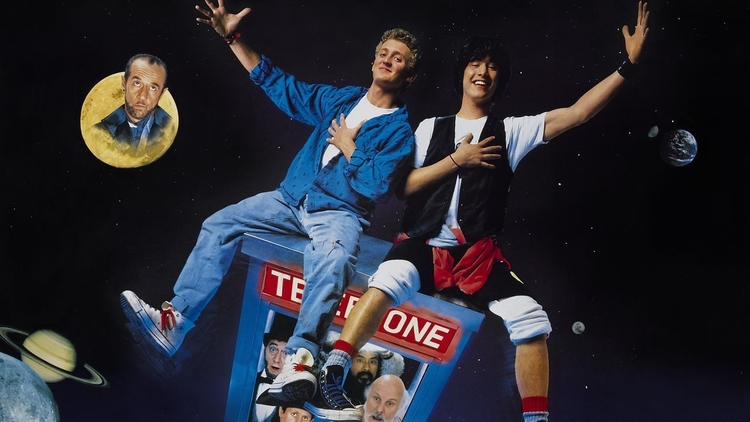 Time-Traveling Phone Booth - Bill & Teds Excellent Adventure (1989)