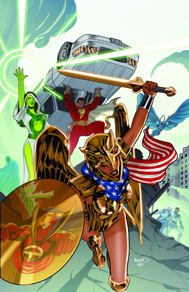 Frankensteining DC Comics' Solicitations For May 2015 Together (UPDATE)