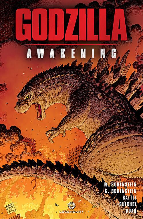 Godzilla Awakening cover