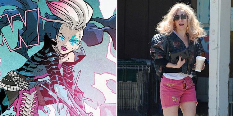 X Men Dazzler Lady Gaga Who Wore It Better? La...