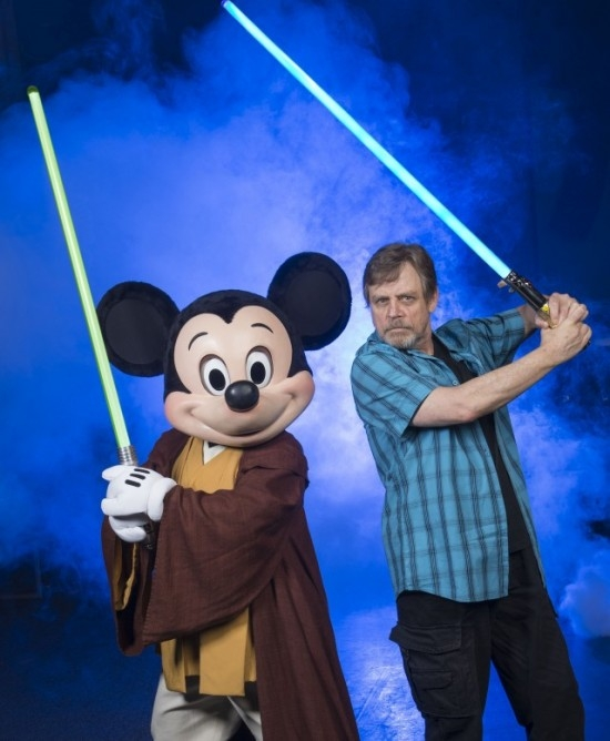 Mark Hamill Lightsaber