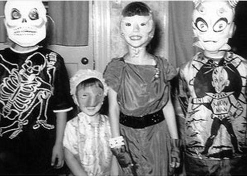 Old Timey Alien Halloween Costume
