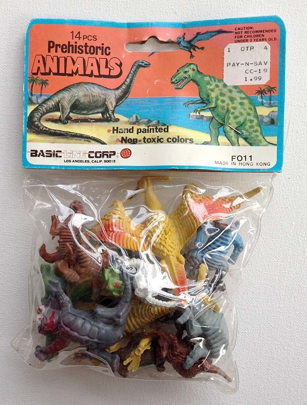Prehistoric Animals Toys : Little known sci fi fact how a cheap bag of toys inspired