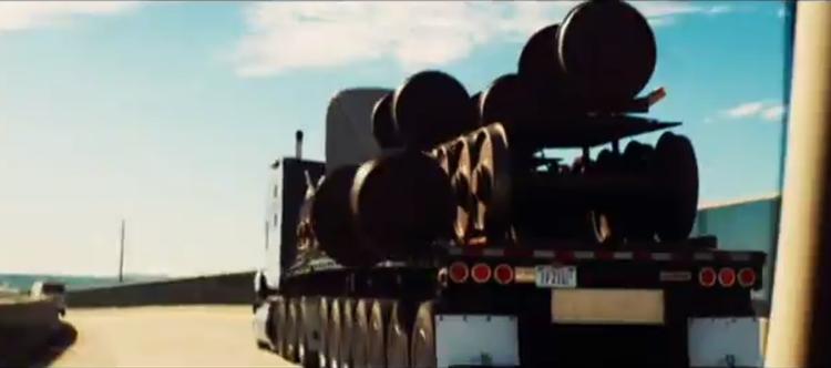 Train Axle Truck - The Island (2005)