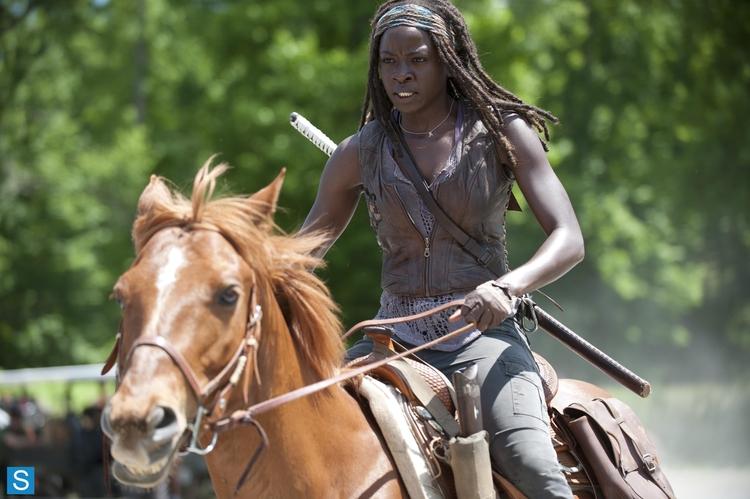 The Walking Dead's Danai Gurira