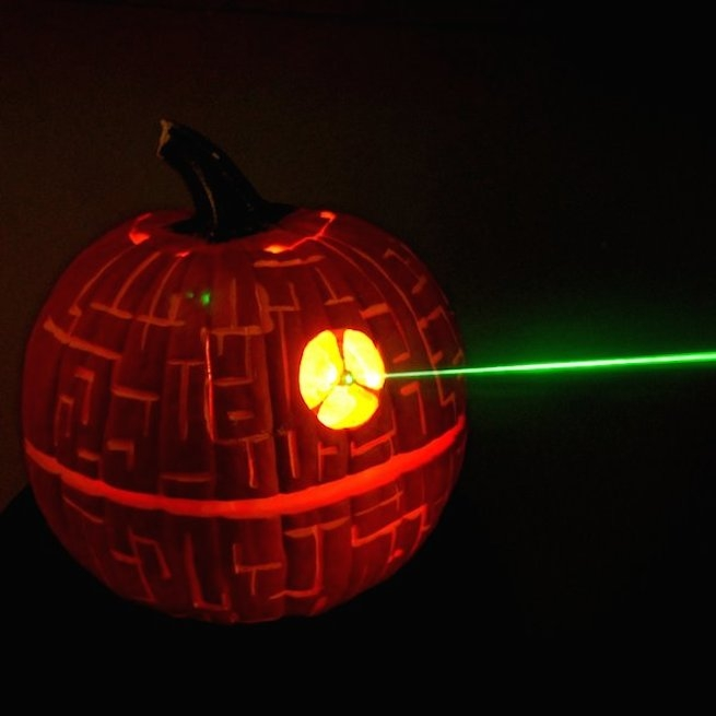 Pumpkin Death Star Alderaan Death Star Pumpkin