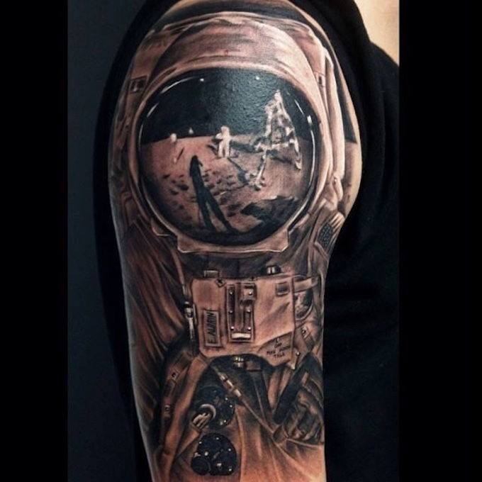 neil armstrong tattoo -#main