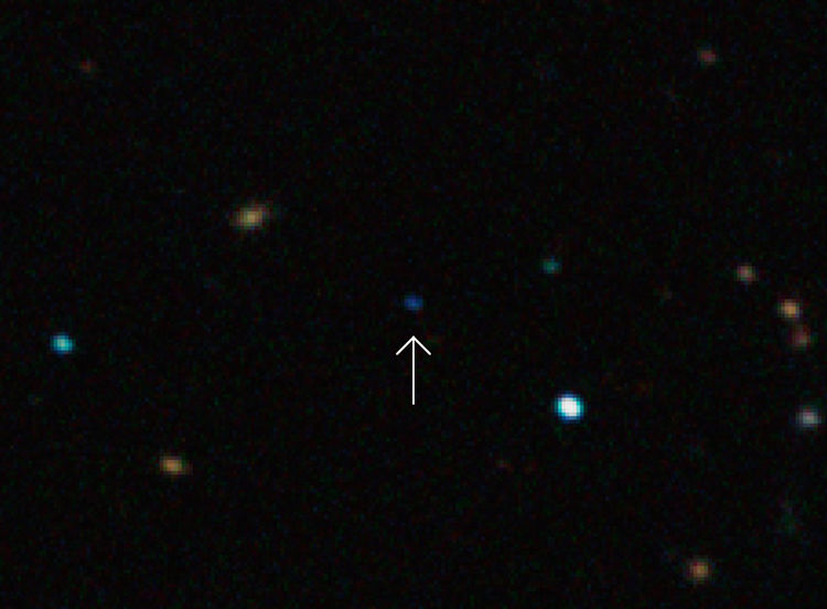 Possible rogue planet CFBDSIR-J21494