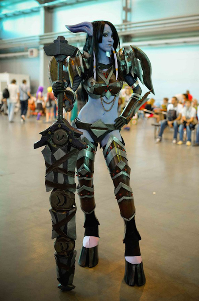 world of warcraft  draenei warrior  1 by feyische-d7qoiw0 jpg itok    World Of Warcraft Cosplay Warrior