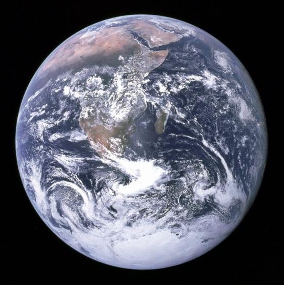 Earth is now on the edge of the habitable zone for life ...