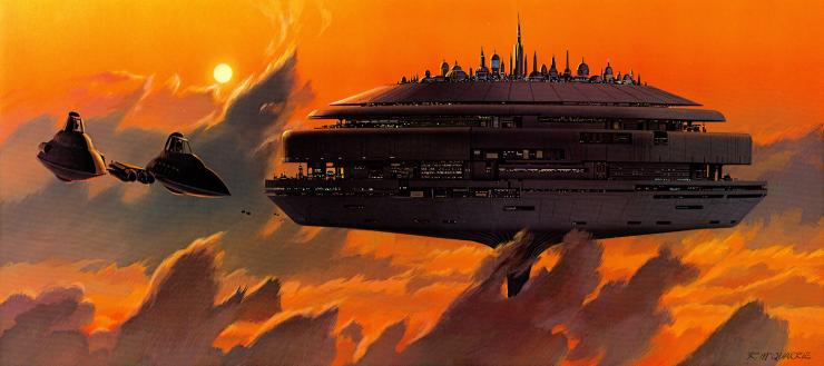 NASA considering cloud cities and air ships for manned ...