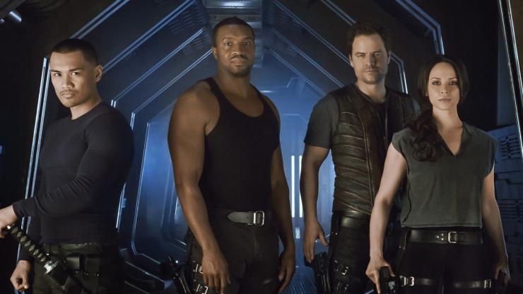 Dark Matter crew