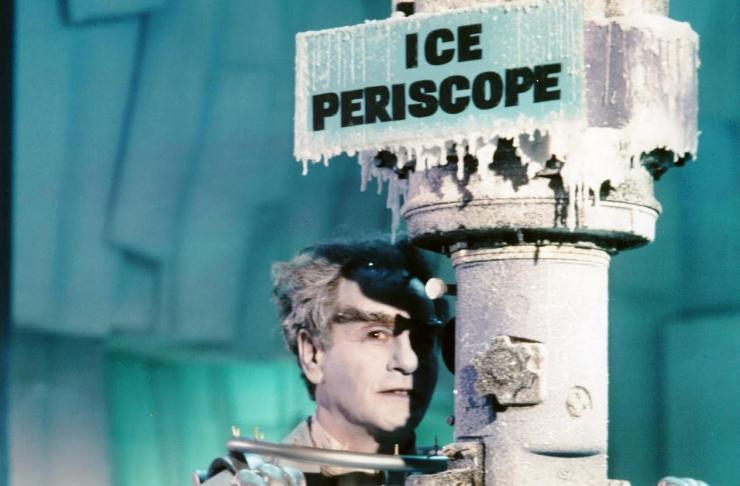 "Eli Wallach as Mr. Freeze in the ""Batman"" series (1967)"