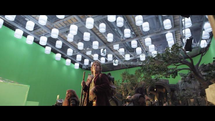 """""""Хоббит"""": раскадровка по спецэффектам (38 фото) """" Интересности каждый день. Развлекательный портал """" omg.kg"""