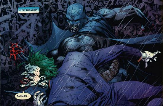batman vs joker essay