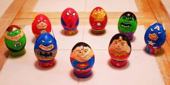 12 Sets Of Sci fi themed Eggs Thatll Make Your Easter A Geeky One