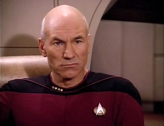 Image result for patrick stewart serious