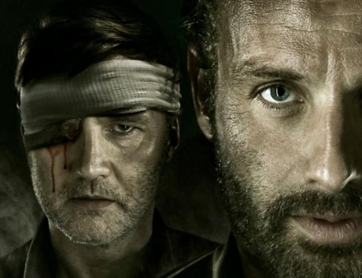walking dead rick and governor meet