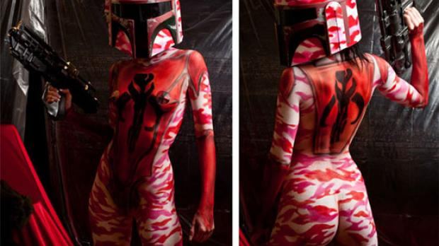Giveaway time. - Page 2 ImageBobaFettBodyPaint021612_0
