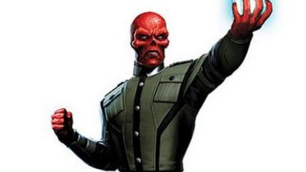 Red Skull Captain America Cartoon