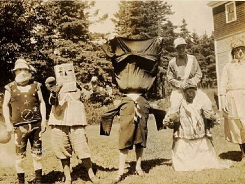 Old Timey Robot Halloween Costume