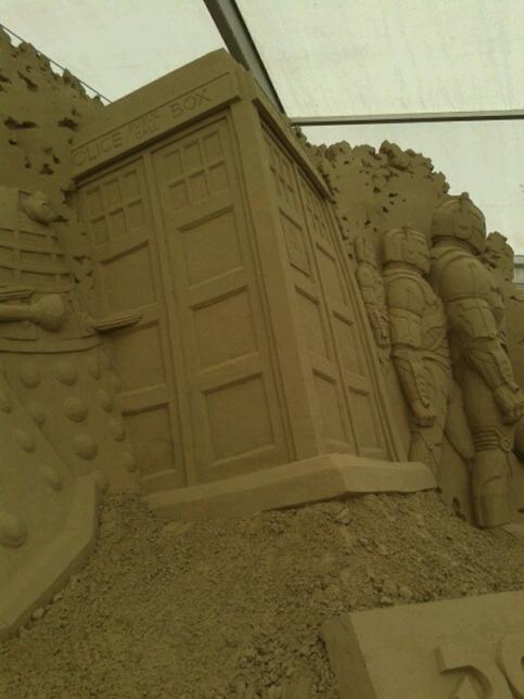 Check Out The Most Epic Doctor Who Sand Sculpture We Ve