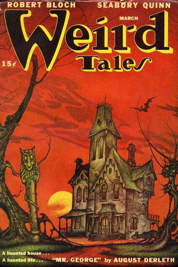 Weird Tales Fall 1973 Unpublished Lovecraft Story Clark Ashton Smith VG/FN