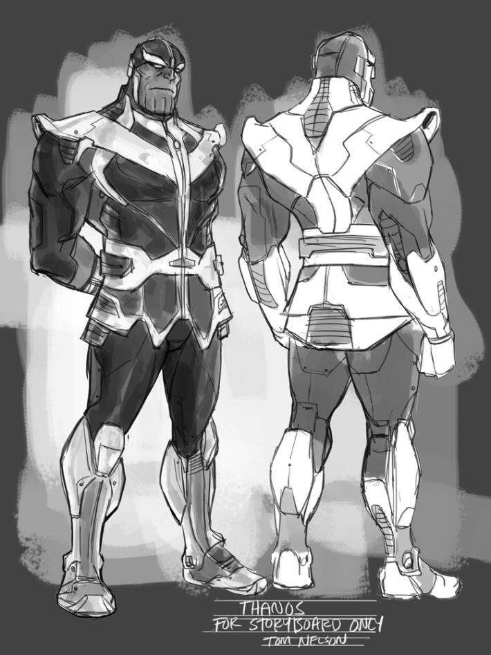 Newly revealed Guardians of the Galaxy storyboards unveil ...
