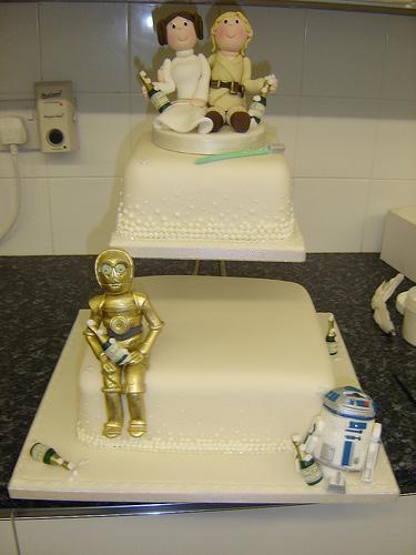 Bsg Wedding Cake