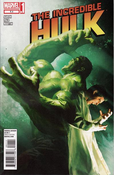 The Incredible Hulk Vol. 3 #7.1 (July 2012), cover by Michael Komarck