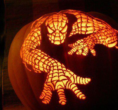Batman Iron Man 22 More Superhero Carved Halloween