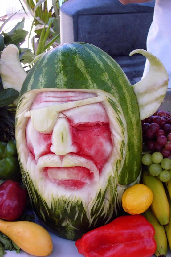 Cool down with the death star more sci fi watermelon