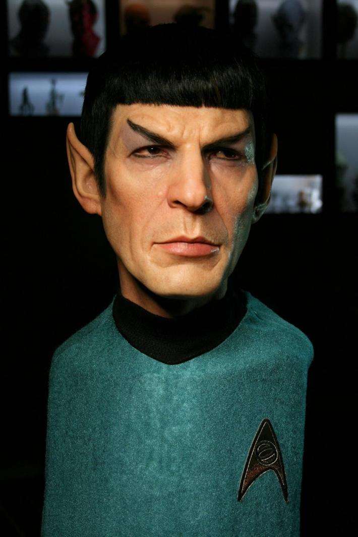 spock sculpt 3 The Most Lifelike Pop Culture Sculptures Ever
