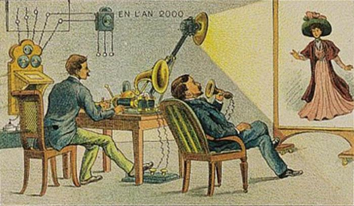 The Phonotelephote by Jules Verne