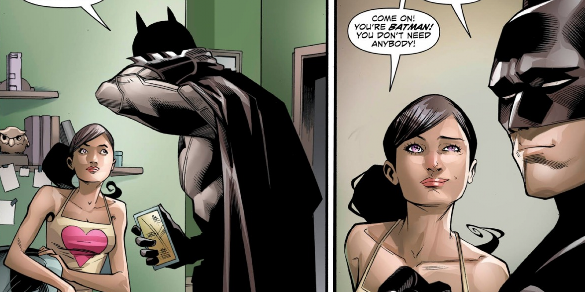 Batgirl and batman dating profile 9