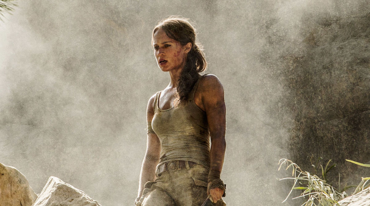 We've got our first look at Alicia Vikander's Tomb Raider