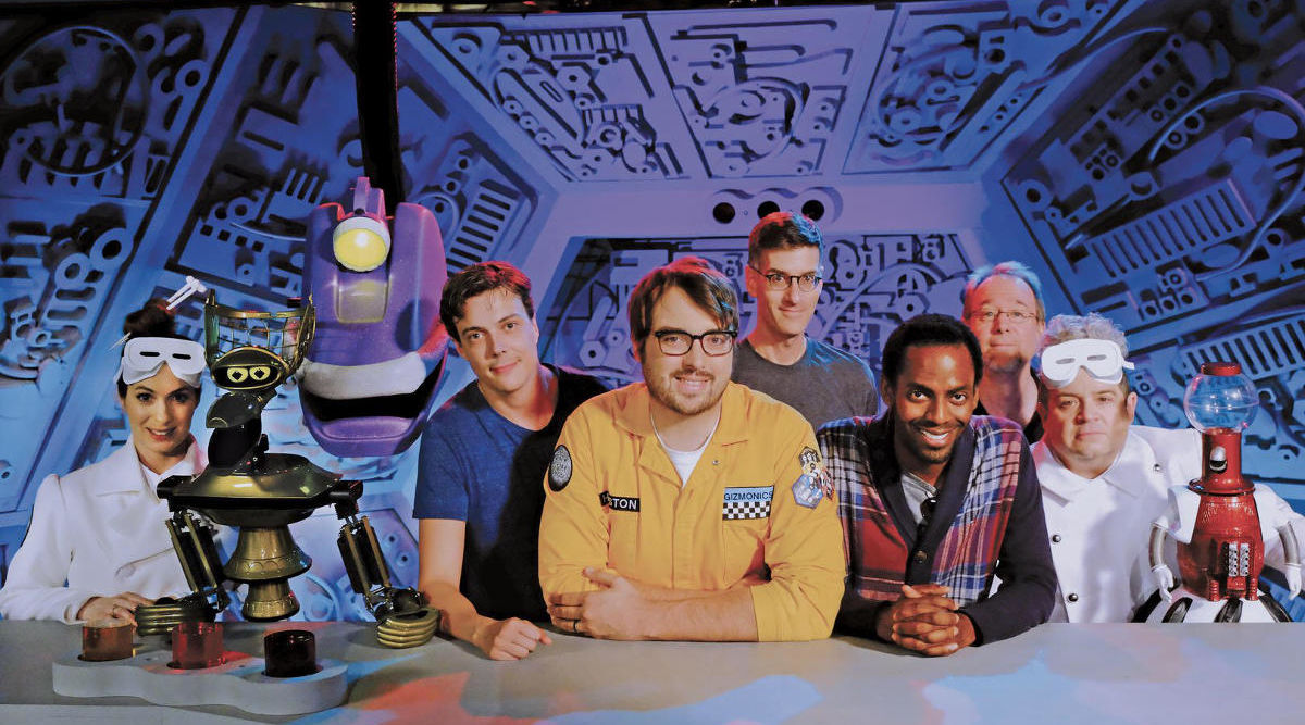 The MST3K revival finally has a premiere date and a cast photo